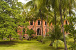 A building on Devils Island in French Guiana - 38119542