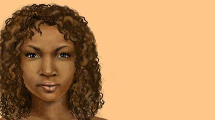 the dark-skinned girls face fictional
