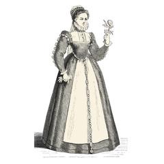Femme du 15ème siècle