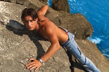 climbing man - ritratto moda
