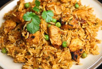 Indian Chicken Tikka Biriyani