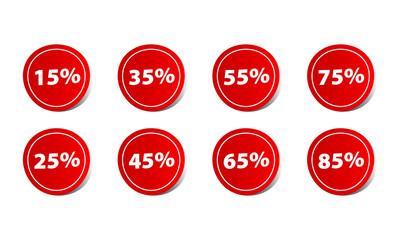 Price discount percentage