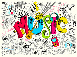 Music Doodle © vectomart