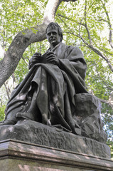 Statue of Walter Scott, Central Park, New York