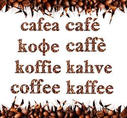 Scritte caffè