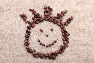 Coffee beans (smile)