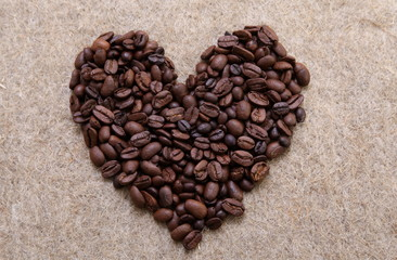 Coffee beans (I love coffee)