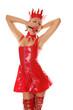 Glamorous Fashion Gag Girl