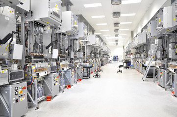 Hightech Industriebetrieb // Hi Tech factory inside