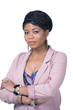 Elegant african businesswoman