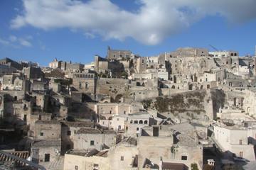 Panorama di Matera, Basilicata, Italia