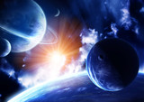 Fototapety Space flare