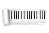 Paper Piano Key
