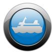 "Metallic Orb Button ""Cruise Liner"""