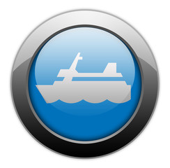 "Metallic Orb Button ""Cruise Liner"""