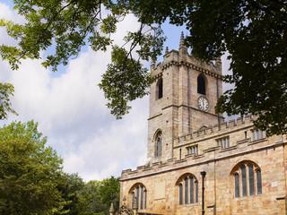 St Peters Church,Parish Church of Burnley Lancashire