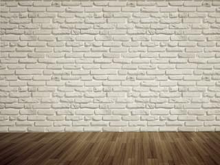 Empty bricks wall