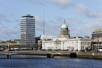 Custom House, Hôtel des douanes _ Dublin