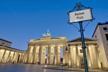 The Pariser Platz at Berlin, Germany