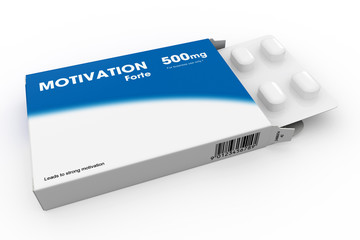 Packet Of Motivation Tablets
