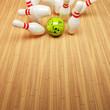 Bowling Strike Hintergrund 2