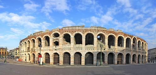 Ancient roman amphitheatre Arena in Verona, Italy