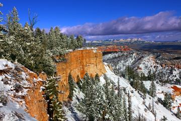 Snowfall in Bryce Canyon