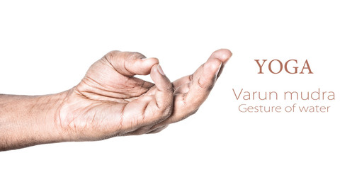 Yoga Varun mudra