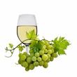 Weißwein,mit Weintrauben