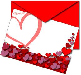 bigliettino di san valentino