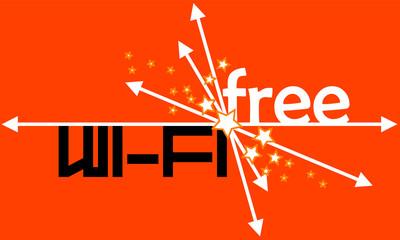 WE FE FREE orange