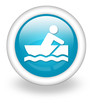 "Light Blue Icon ""Rowboating"""