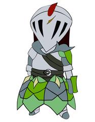 カラフルな騎士