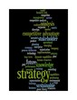 strategy word cloud - black 3