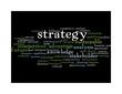 strategy word cloud - black 2