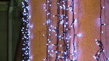 Christmas twinkle lights poster