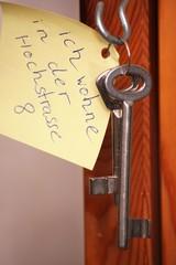Schlüssel von Demenzkrankem mit Wohnorthinw.