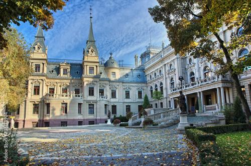 Zdjęcia na płótnie, fototapety na wymiar, obrazy na ścianę : Poznanski's Palace in Lodz, Poland