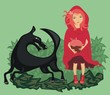 Red Riding Hood and Woolf
