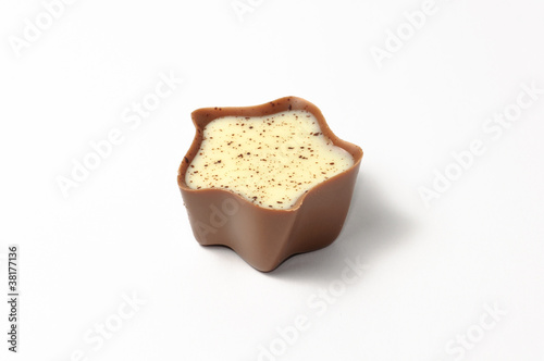 A chocolate candy