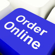 Order Online Computer Key In Blue For Buying On The Web