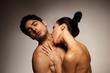 Couple Enjoying Sexual Foreplay