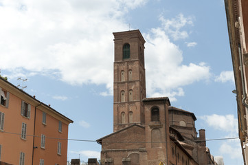 Medieval Towers in Bologna Italy