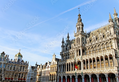 Brussels grand place building.