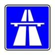 Verkehrsschild - 330 Autobahn