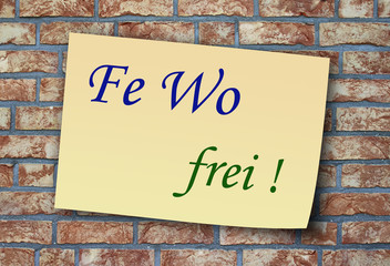 Fe Wo frei !