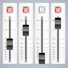 audio mixing controls