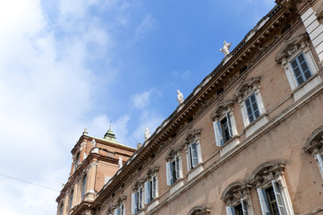 Historic Building in the city of Modena Italy