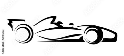 Naklejka formula 1