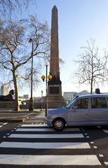 Cleopatra's Needle on London Embankment